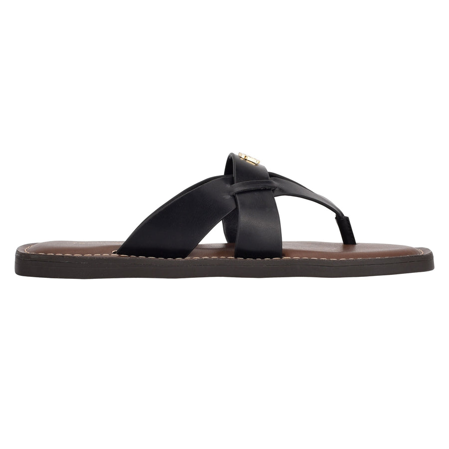 Tommy Women's Ebru in Black Sandals TOMMY WOMEN 6
