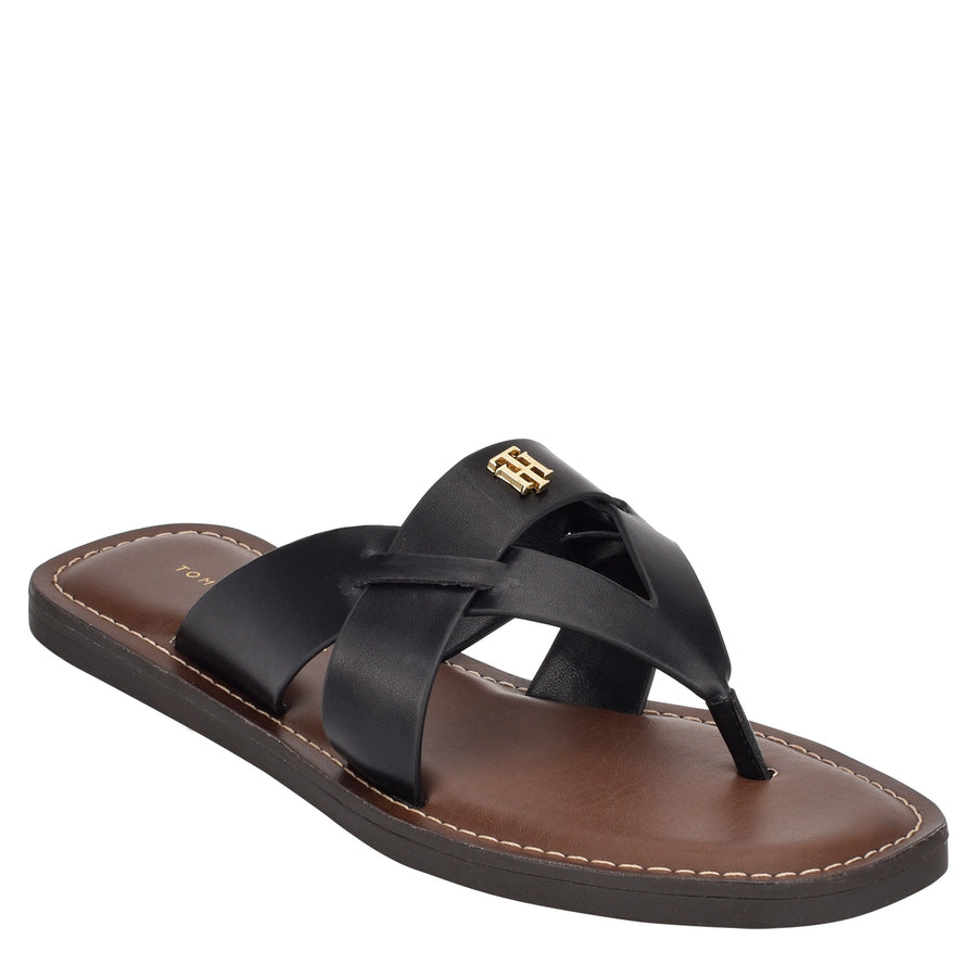 Tommy Women's Ebru in Black Sandals TOMMY WOMEN