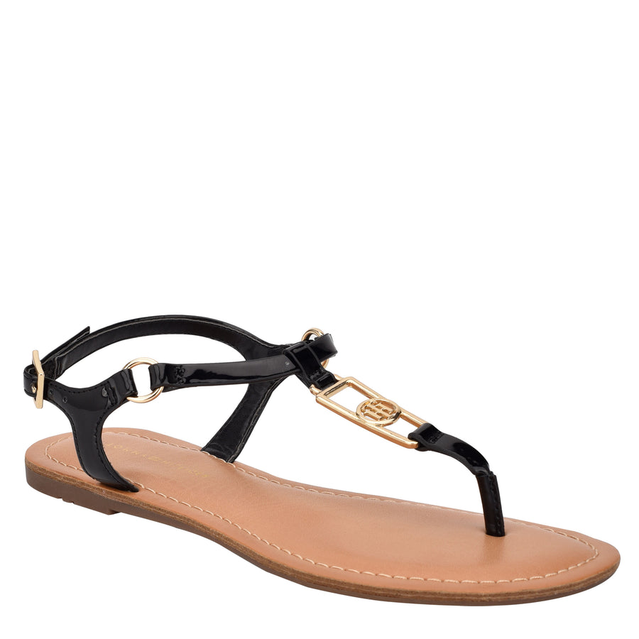Tommy Women's Landen in Black Sandals TOMMY WOMEN