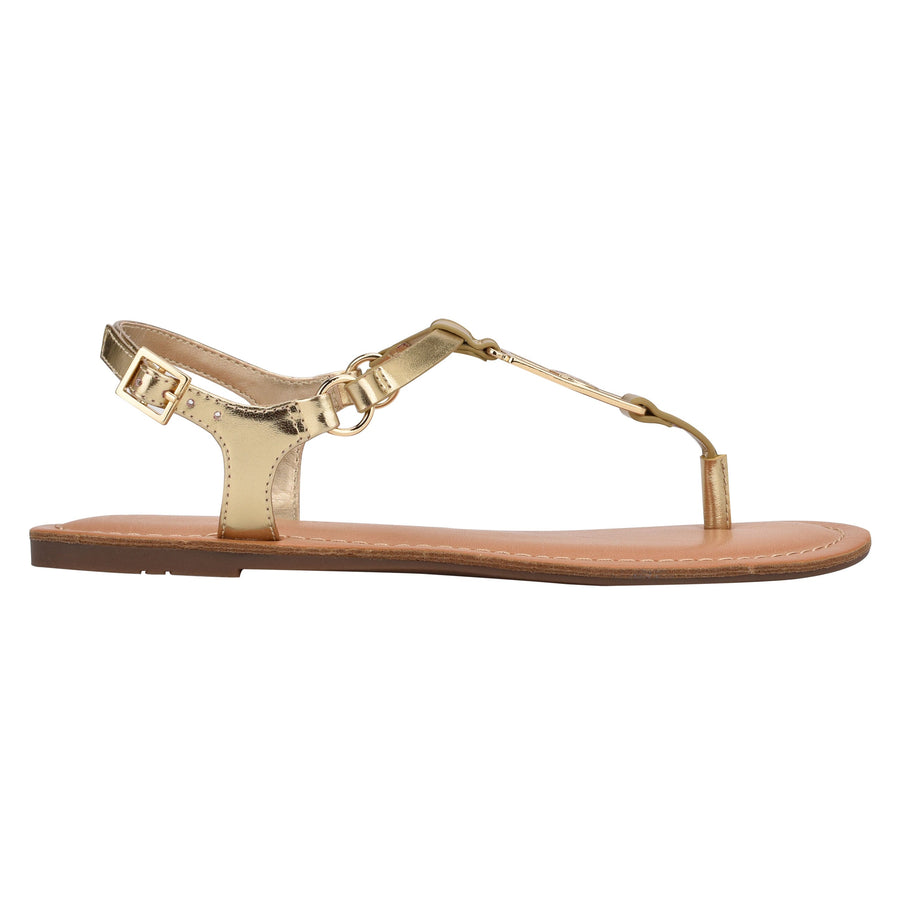 Tommy Women's Landen in Oro Sandals TOMMY WOMEN 6
