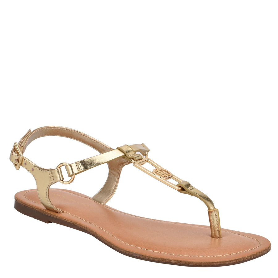 Tommy Women's Landen in Oro Sandals TOMMY WOMEN