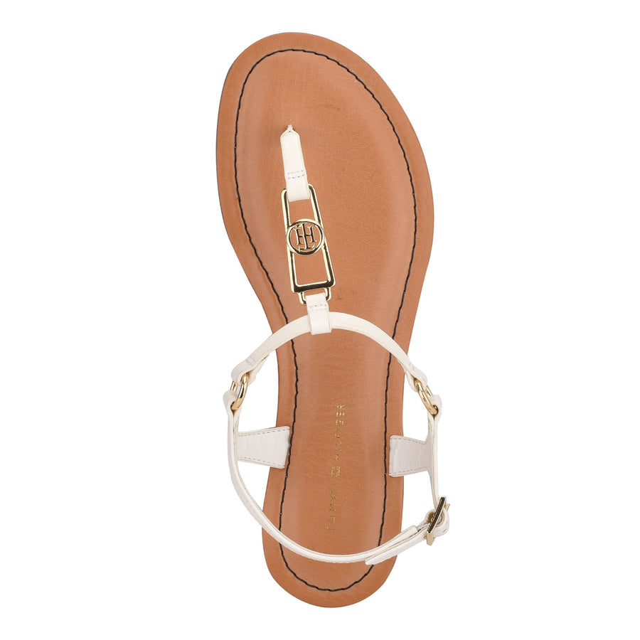 Tommy Women's Landen in White Sandals TOMMY WOMEN
