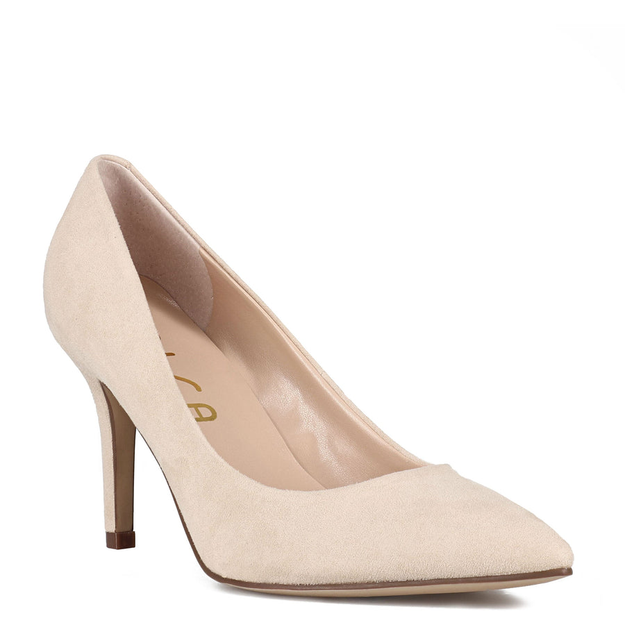 Unisa Women's Yema2 in Cream Heels Unisa