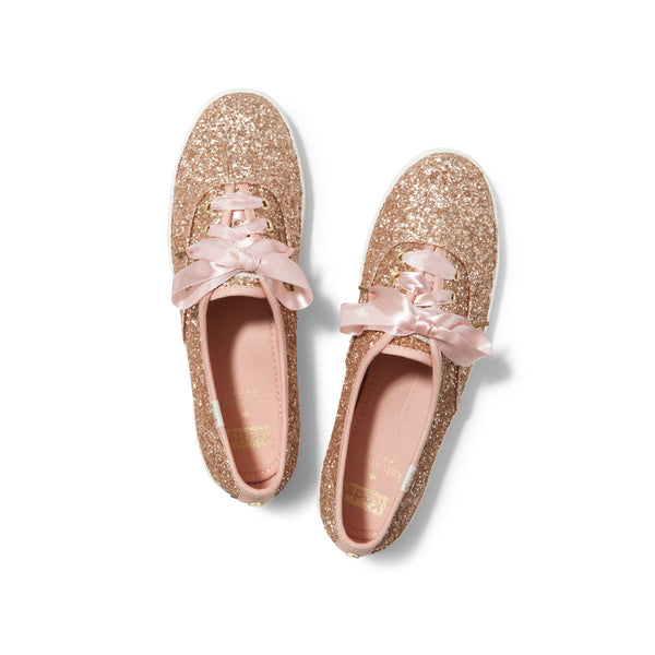 Keds Women's Ch Kate Spade Sneakers in Rose Gold Sneakers Keds