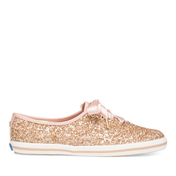 Keds Women's Ch Kate Spade Sneakers in Rose Gold Sneakers Keds 8.5