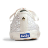 Keds Women's Champion Glitter Kate Spade Sneakers in Cream