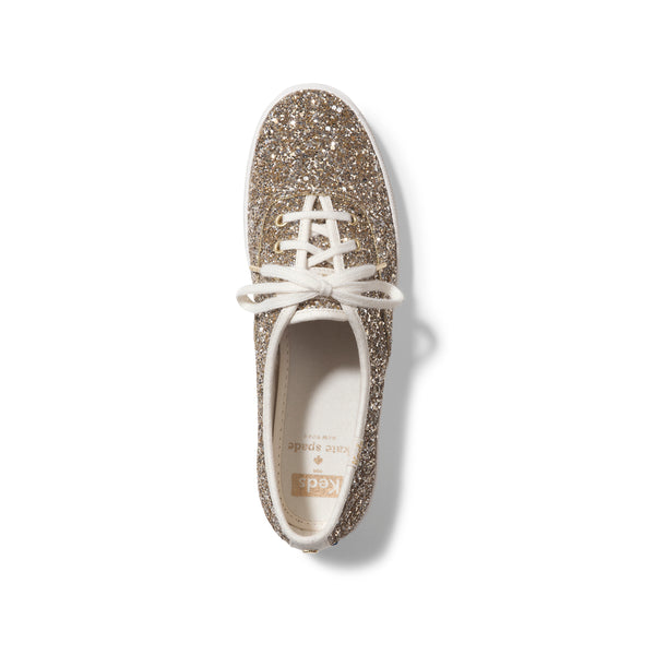 Keds Women's Champion Kate Spade in Platinum Sneakers Keds