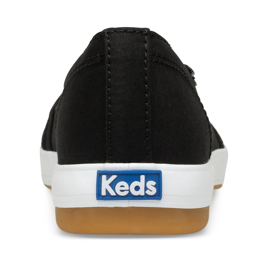 Keds Women's Carmel Twill in Black Sneakers Keds