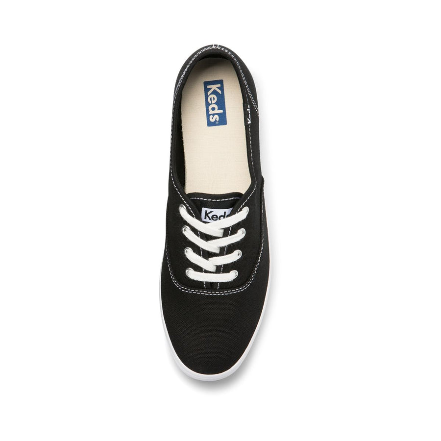 Keds Women's Champion Org Core Canvas in Black