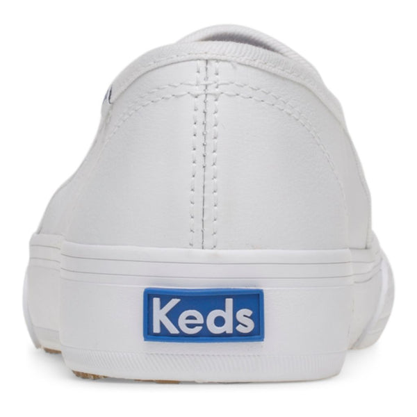 Keds Women's Double Decker Leather in White
