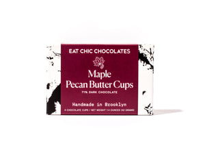 Maple Pecan Butter Cups - Box of Four