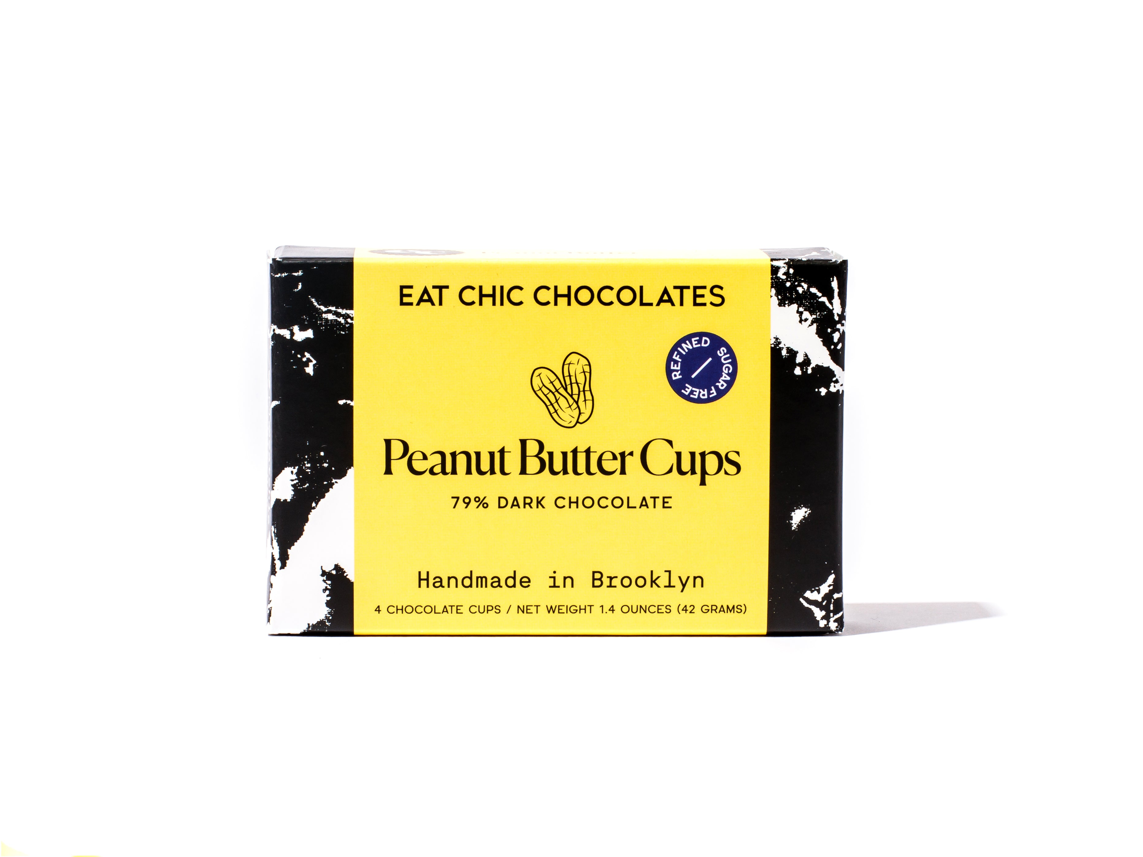 Dark Chocolate Peanut Butter Cups - Box of Four