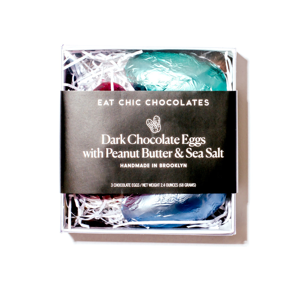 Organic Dark Chocolate Peanut Butter Eggs