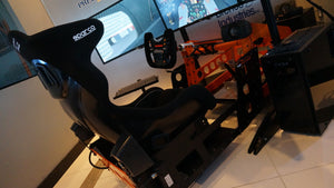Our New P1-R2 motion simulator uses D-Box's  2250i two actuator motion system. Ask us why our 2 actuator system is better than the competition.