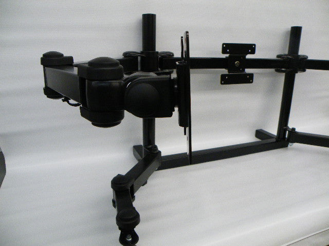 Free-Standing Triple Monitor Mount