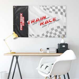 Train Like You Race Flag