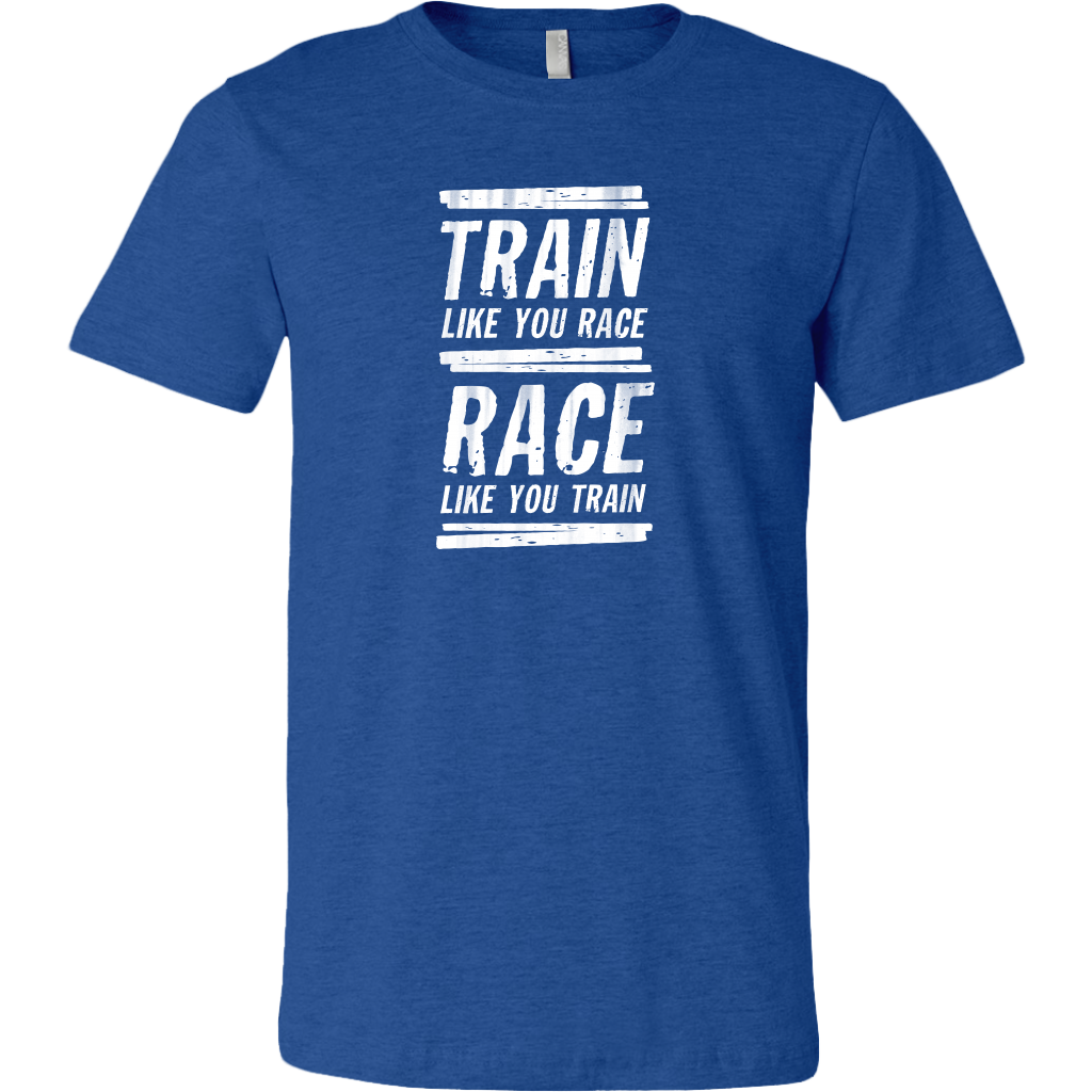 Train Like You Race Short-Sleeved T-Shirt