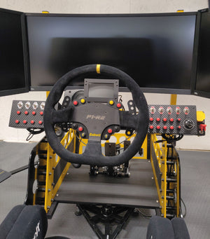 professional racing simulator cockpit