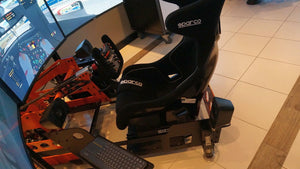 full motion racing simulator cockpit