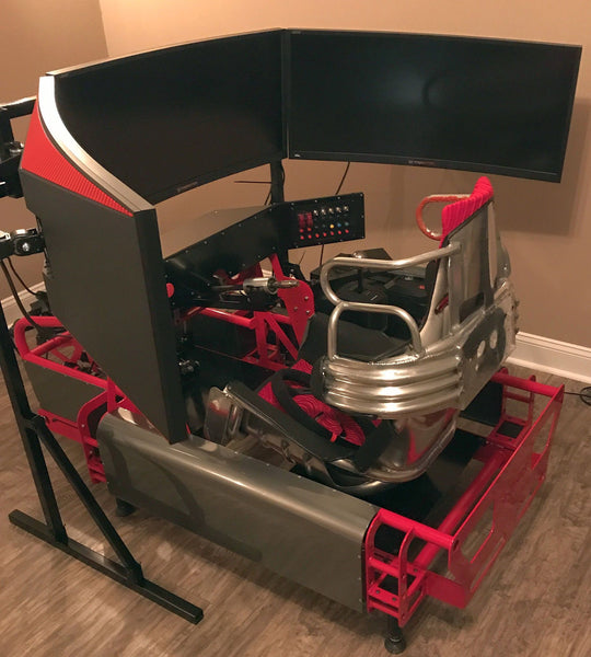 racing simulator cockpit