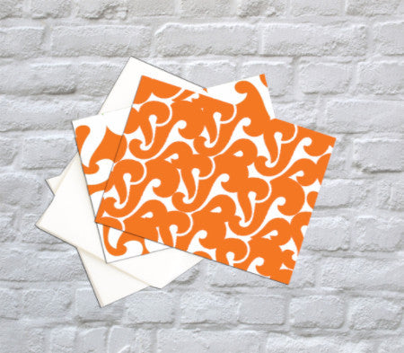 Bold Folded Notecards