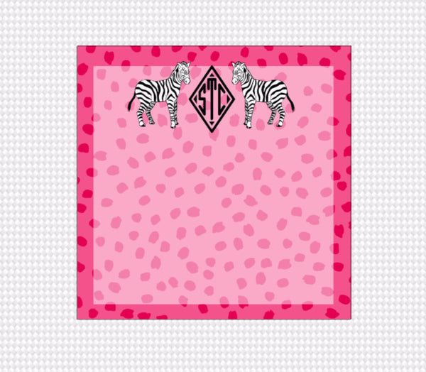 Monogram Note Pad