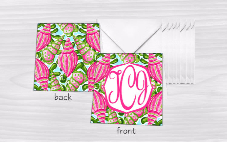 Monogram Mini Gift Enclosures