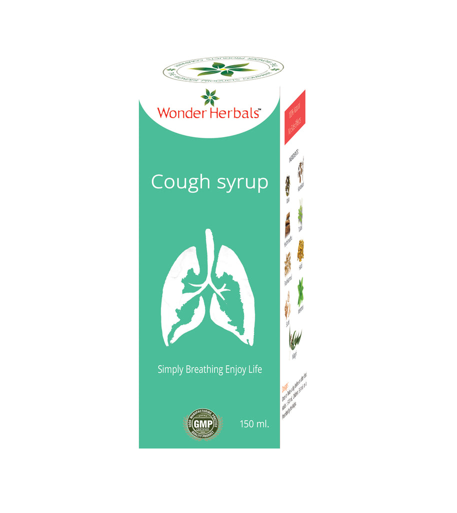 Cough syrup - Wonderherbals