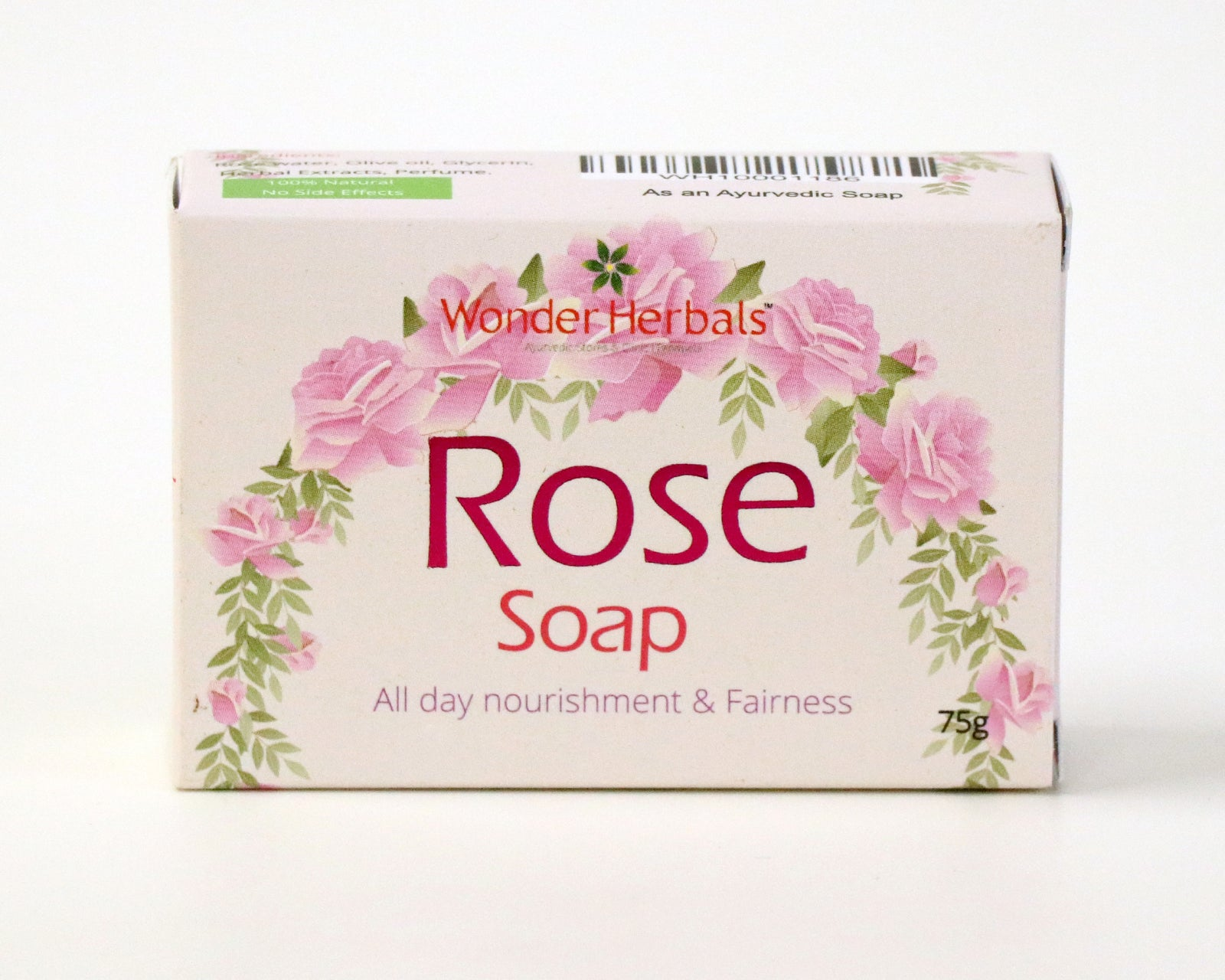 Rose soap - Wonderherbals