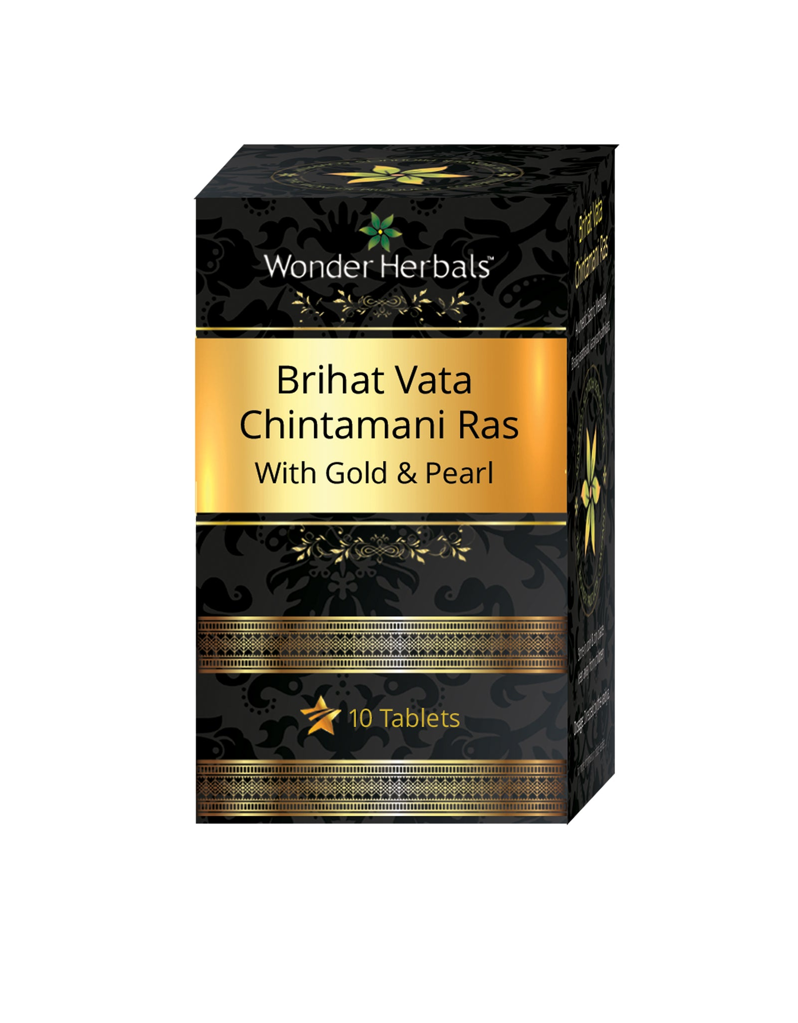 Brihat vatachintamani ras with gold - Wonderherbals