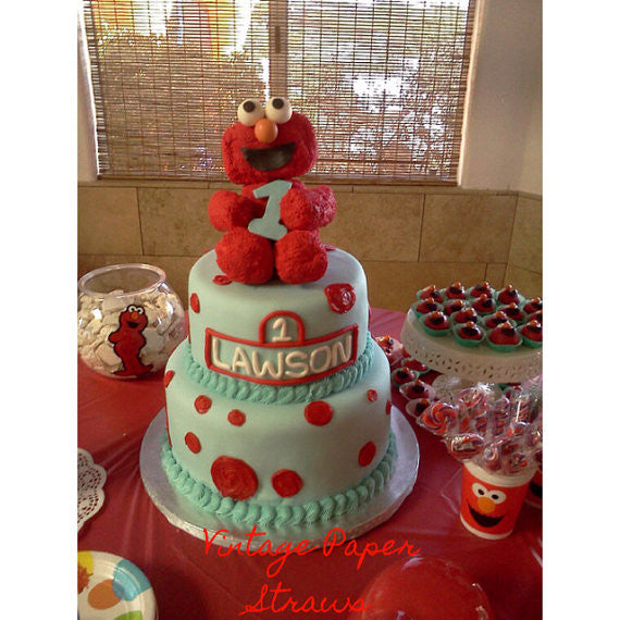 Elmo Cake Topper 8 The Cookie Lady Co