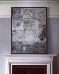 Distressed Antiqued Glass Mirrors