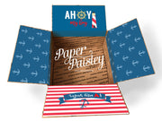 Ahoy My Boy Care Package Sticker Kit