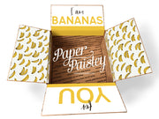 Bananas For You Care Package Sticker Kit