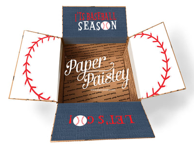 Baseball Season Care Package Sticker Kit