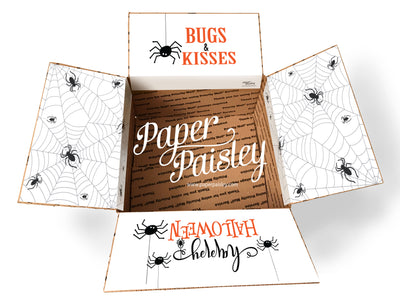 Bugs & Kisses Care Package Sticker Kit