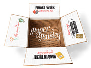 Finals Week Survival Kit Care Package Sticker Kit