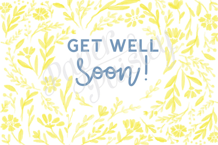 Get Well Soon Care Package Sticker Kit