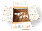 Happy Birthday Hooray Care Package Sticker Kit
