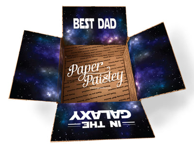 Best Dad in the Galaxy Care Package Sticker Kit