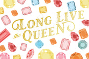 Long Live the Queen Care Package Sticker Kit