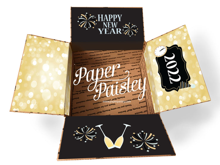 Happy New Year Care Package Sticker Kit