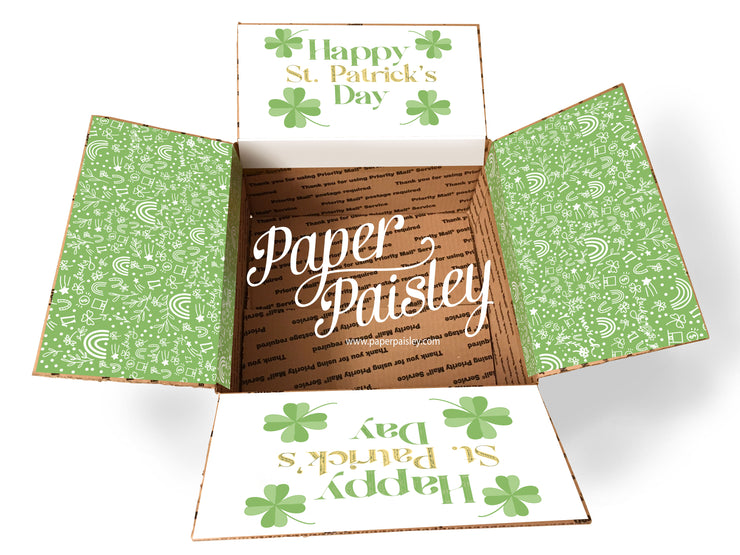 Happy St. Patrick's Day Care Package Sticker Kit