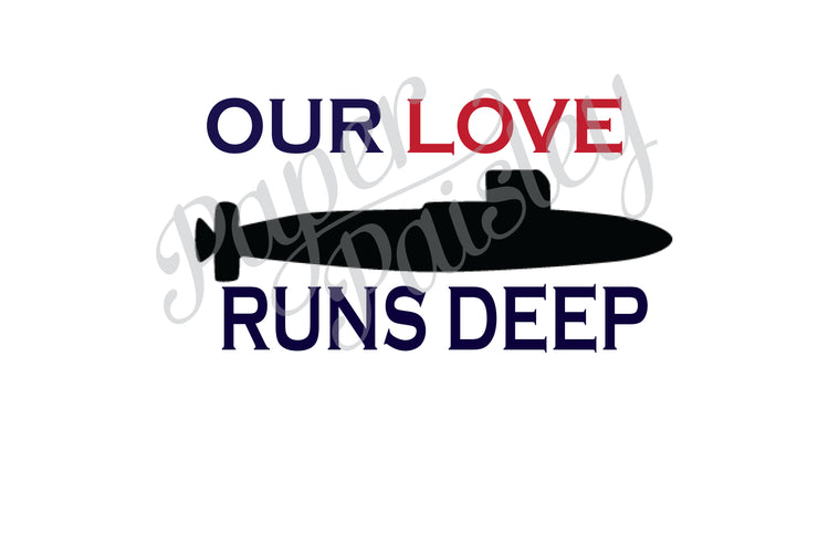 Our Love Runs Deep Care Package Sticker Kit