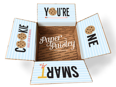 You're One Smart Cookie Care Package Sticker Kit