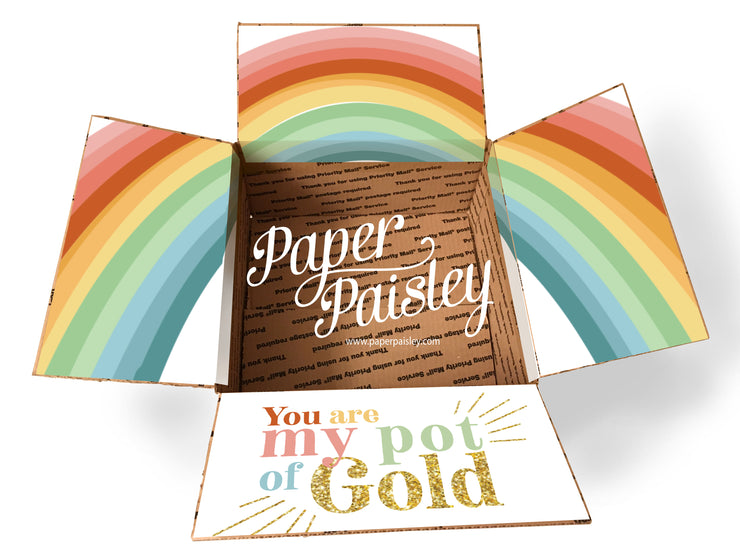 Pot of Gold Care Package Sticker Kit