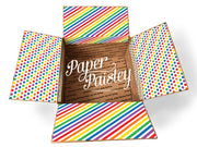 Rainbow Big Pattern Care Package Sticker Kit