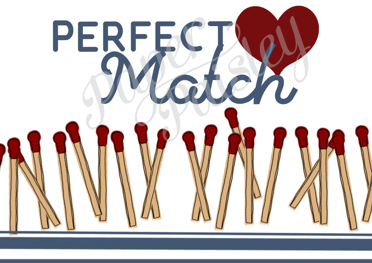 Perfect Match Care Package Sticker Kit