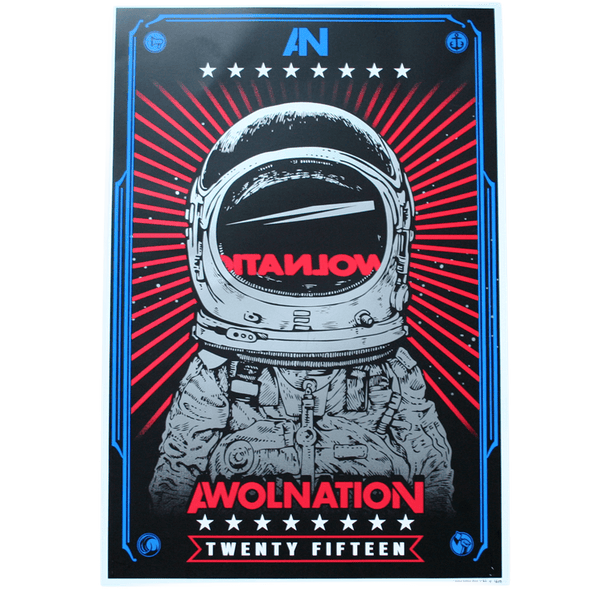 AWOLNATION Astronaut Poster