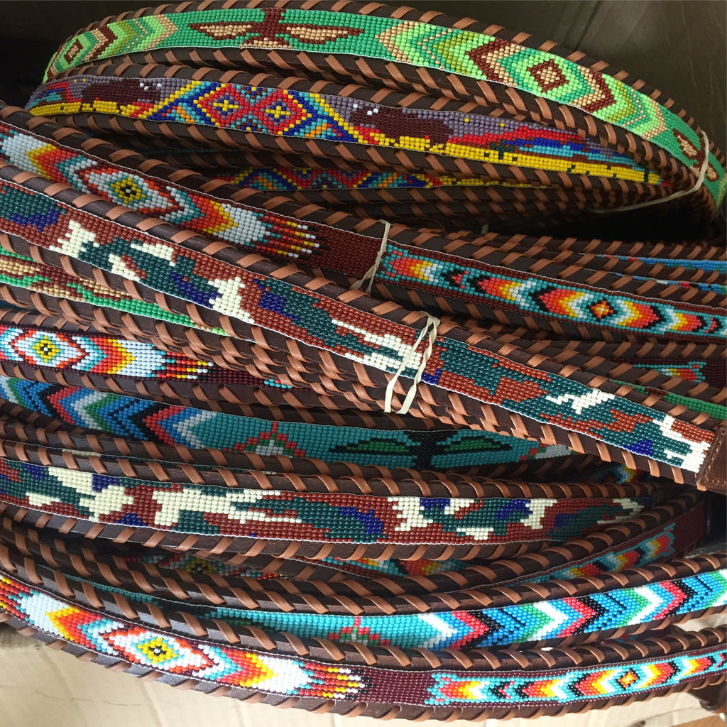 Camp Hero Beaded Belt Styles